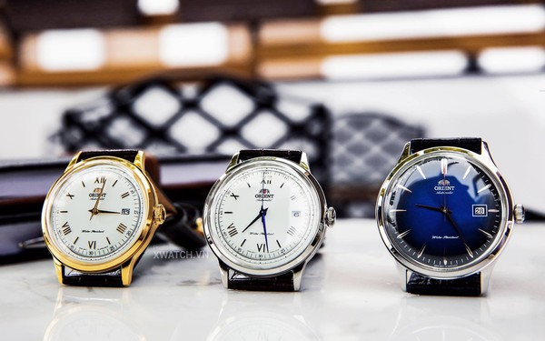 Quý ông lịch lãm cùng bộ sưu tập đồng hồ Orient Bambino
