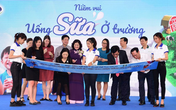 Công bố chủ đề hưởng ứng ngày sữa thế giới, Vinamilk tiếp tục nỗ lực vì một Việt Nam vươn cao.