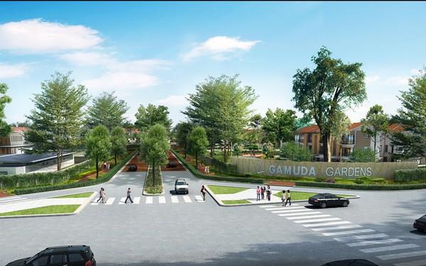 Tận hưởng không gian sống xanh mát ngay tại Gamuda Gardens