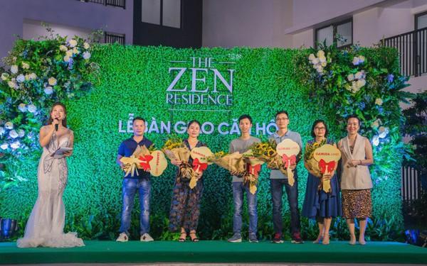 Lễ bàn giao căn hộ The Zen Residence nhận được sự quan tâm của nhiều khách hàng
