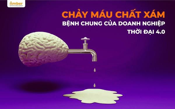 """""""Chảy máu chất xám"""" - Bệnh chung của doanh nghiệp Việt thời 4.0"""