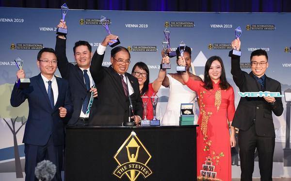 """Các sản phẩm số của Viettel thắng lớn tại """"giải Oscar"""" dành cho giới kinh doanh quốc tế"""