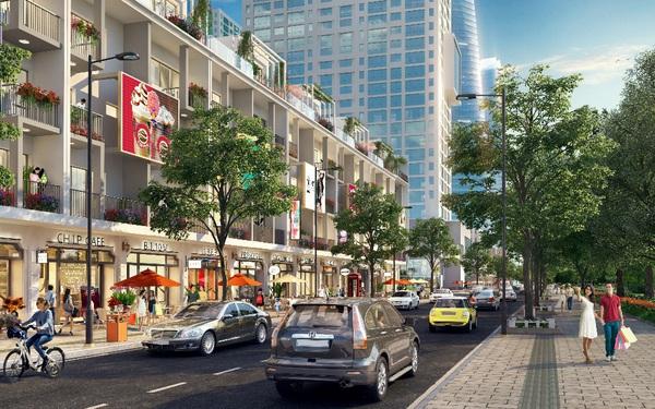 """""""Bài toán"""" shophouse tại các khu đô thị lớn: Đầu tư sao cho hiệu quả?"""