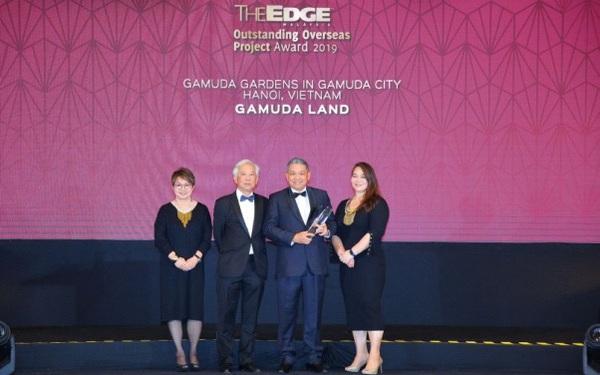"""Gamuda Gardens nhận giải thưởng: """"Dự án bất động sản xuất sắc ở nước ngoài"""""""