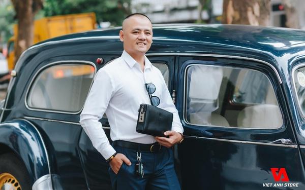 """Việt Anh Võ, người tiên phong đưa sản phẩm """"ví da nam khóa vân tay"""" đổ bộ thị trường Việt Nam"""