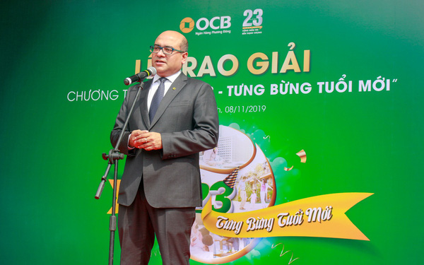Tưng bừng tuổi mới: OCB tặng thưởng trị giá 7 tỷ đồng