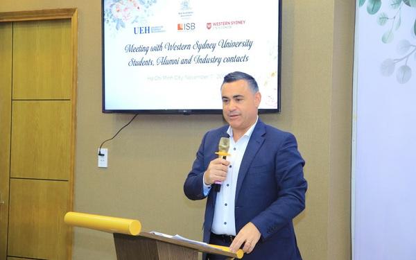Lãnh đạo New South Wales bất ngờ với ASEAN Hub của ĐH Western Sydney