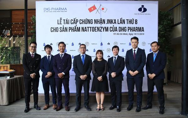 Lễ tái cấp chứng nhận JNKA cho sản phẩm Nattoenzym của DHG Pharma lần 8