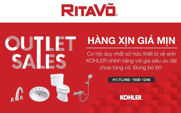 Bùng nổ ưu đãi cuối năm với chương trình RitaVõ Outlet Sales