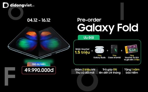 Lý do bạn nên sở hữu Samsung Galaxy Fold tại Di Động Việt