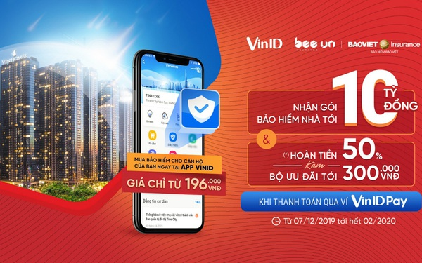 VinID ra mắt tính năng Bảo hiểm nhà ở liên kết với Bảo Việt