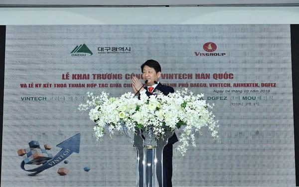 """Thị trưởng thành phố Daegu, Hàn Quốc: """"Vingroup là Samsung của Việt Nam"""""""