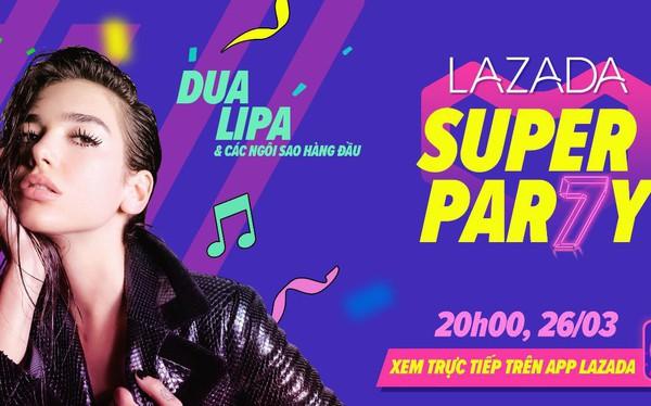 Dua Lipa biểu diễn cùng các nghệ sĩ hàng đầu Đông Nam Á trong đêm nhạc mừng siêu sinh nhật lần thứ 7 của Lazada