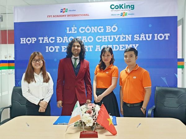 FPT Education ra mắt Học viện IoT tại Việt Nam