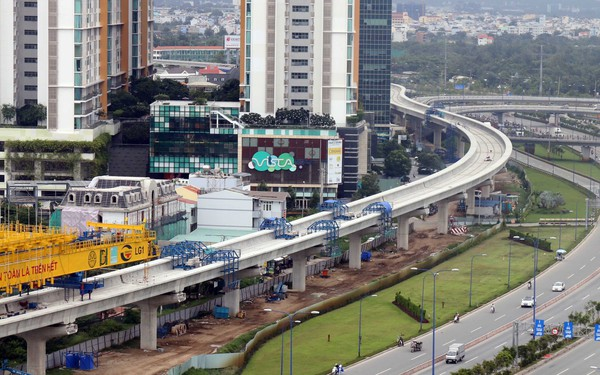 Tp.HCM tạm ứng hơn 2.000 tỷ đồng cho tuyến metro Bến Thành – Suối Tiên