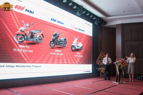 Xe máy điện MBI đã có giá, rẻ nhất từ 39,8 triệu