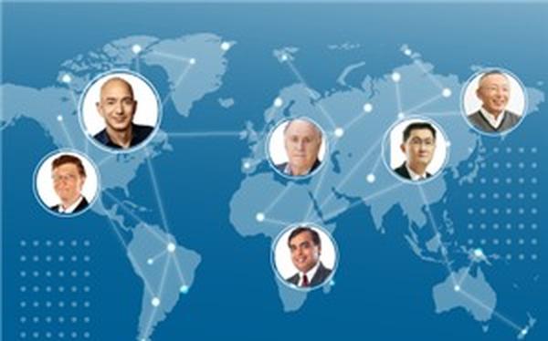 [Infographic] 50 người giàu nhất sống ở đâu trên thế giới?