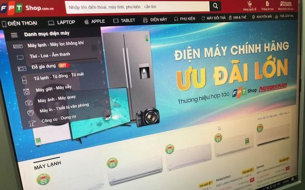FPT Shop hợp tác với Nguyễn Kim, bắt đầu bán tivi, tủ lạnh, máy lạnh, máy giặt...