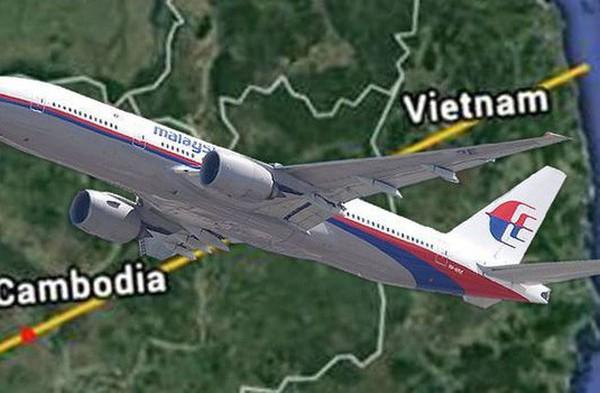 """MH370 đã hạ cánh xuống sân bay bí mật có tọa độ là """"vĩ độ 12.2558, kinh độ 104.5667""""?"""