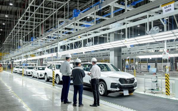 Nhà máy Vinfast sẽ chính thức hoạt động chỉ sau 21 tháng xây dá»±ng, lập ká»³ tích trong ngành ô tô thế giới