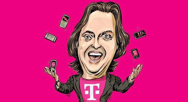 """Miễn phí tùm lum, CEO chửi thẳng đối thủ là ngu ngốc, nỗi nhục của nhà mạng: Từ vực phá sản, T-Mobile đã thay đổi cả ngành viễn thông Mỹ với vị CEO """"điên rồ"""""""