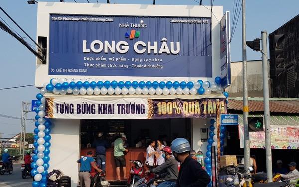 Chuỗi nhà thuốc Long Châu có cá»a hàng thứ 30, doanh thu bình quân 1,6 tá»· đồng/tháng