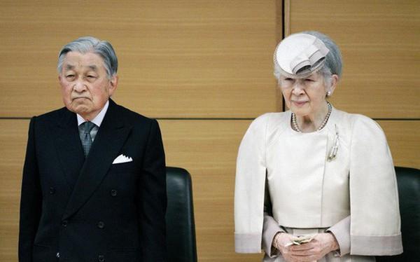 Hôm nay, 300 khách mời tham dự lễ thoái vị của Nhật hoàng Akihito