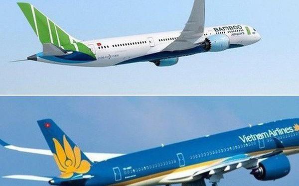 """Mở đường bay thẳng tới Mỹ: """"Lão làng"""" Vietnam Airlines đắn đo, """"tân binh"""" Bamboo Airways quả quyết"""