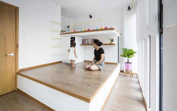 [Ảnh] Bên trong ngôi nhà 18 m2 tuyệt đẹp ở TP HCM