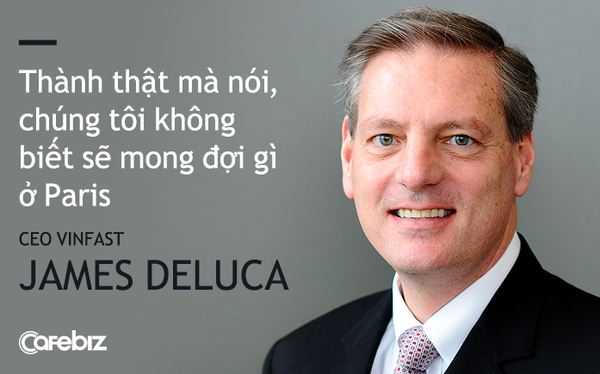 CEO VinFast James DeLuca: