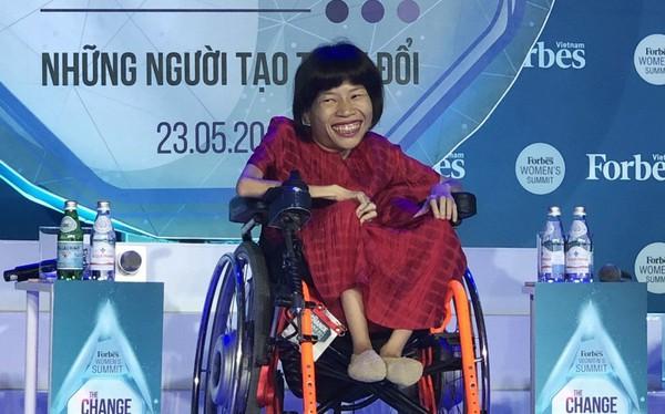Chủ tịch Imagtor Nguyễn Thị Vân: Từ mô hình từ thiện mở thêm công ty để kinh doanh, để chứng minh rằng người khuyết tật không có sự khác biệt gì trong xã hội cả!