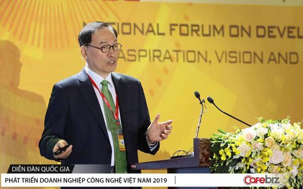 Nguyên thành viên ban cố vấn Tổng thống Hàn Quốc chia sẻ bài học thoát bẫy thu nhập trung bình và trở thành cường quốc công nghệ cho chính phủ và doanh nghiệp Việt Nam