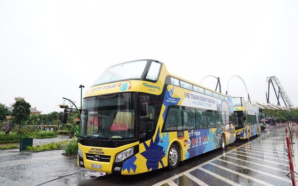 Sau Hà Nội, đến lượt Hạ Long chính thức triển khai xe buýt 2 tầng, có wifi, tủ lạnh, tai nghe đi kèm
