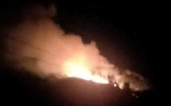 Hà Tĩnh: Lại cháy rừng tại Hương Sơn, khẩn cấp sơ tán dân trong đêm