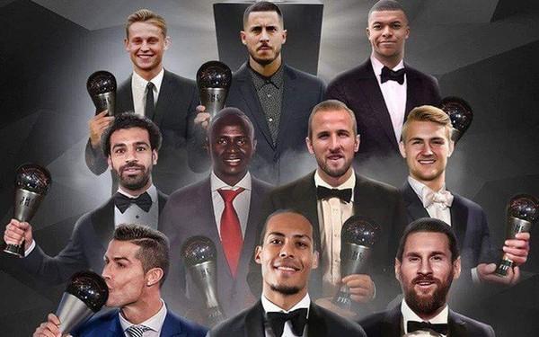 Công bố top 10 ứng viên tranh giải nam cầu thủ hay nhất thế giới: Màn tấu hài cực mạnh đến từ FIFA