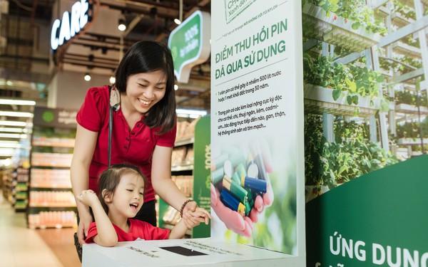 Đây là cách siêu thị của Vingroup bảo vệ môi trường: Tặng 1.000 đồng cho khách không xài túi nilon, hơn 2.000 siêu thị VinMart và VinMart+ trở thành điểm thu hồi pin qua sử dụng