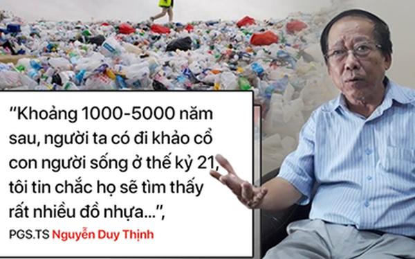 """""""Tôi không bao giờ mua nước đóng chai"""": PGS.TS Nguyễn Duy Thịnh """"tiết lộ"""" lý do giật mình"""