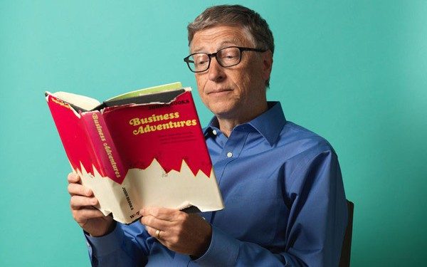 Đừng trở thành mọt sách đọc rồi quên, hãy học Bill Gates những cách sau để biến sách thành thứ vô giá