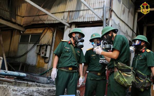 Đã có kết quả phân tích mẫu vật vụ cháy nhà máy Rạng Đông