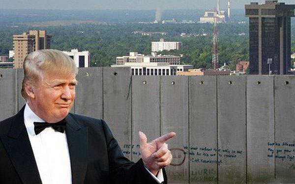 Ông Trump khôi hài ví Mỹ cần bức tường biên giới giống như tường nhà ông Obama