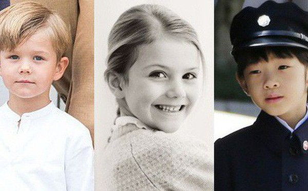 Đâu chỉ có ở Anh, các em bé hoàng gia trên khắp thế giới cũng toàn cực phẩm, xinh như thiên thần, đại diện châu Á đáng gờm không kém