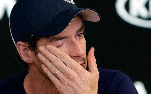 Tay vợt huyền thoại Andy Murray tuyên bố giải nghệ trong nước mắt