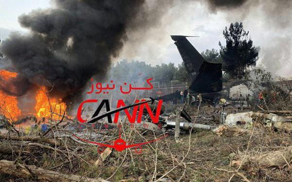 [NÓNG] Iran: Máy bay chở khách Boeing-707 bốc cháy sau khi rơi gần thủ đô Tehran
