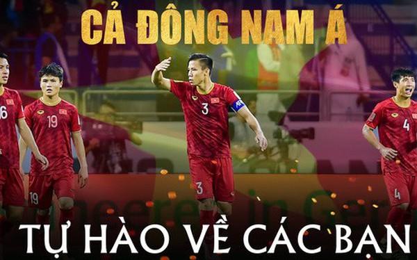 Cả Đông Nam Á tự hào về màn trình diễn tuyệt vời của tuyển Việt Nam trước Nhật Bản