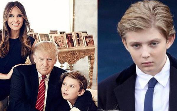 Quý tử út Tổng thống Trump: Cậu ấm hot nhất hành tinh với combo điển trai, lạnh lùng, 'nhà mặt phố, bố làm to'