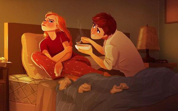"""Bộ tranh """"Tình yêu có màu gì"""" sẽ khiến bạn bất giác mỉm cười vì quá ngọt ngào"""