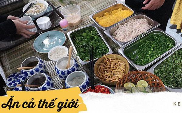 Chỉ nhìn qua vài món đãi phóng viên quốc tế thời gian Hội nghị thượng đỉnh cũng thấy ngay những địa điểm ăn uống nức tiếng Hà Nội