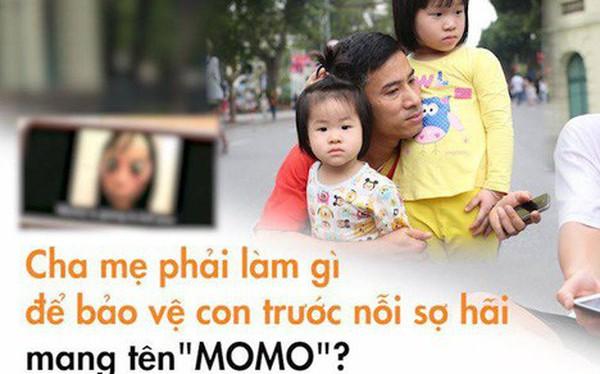 """Clip bố mẹ Việt phản ứng khi tận mắt thấy """"quái vật Momo"""": Tôi sẽ kiểm soát những gì con xem từ bây giờ!"""