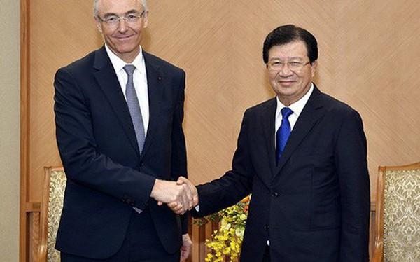 Tập đoàn khí công nghiệp của Pháp muốn nâng gấp đôi tổng mức đầu tư tại Việt Nam