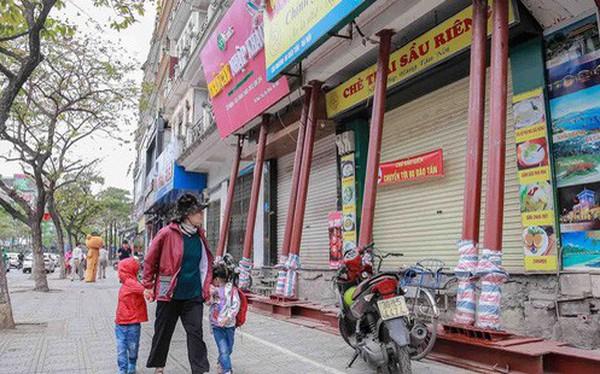 Dãy nhà 'chống nạng' trên phố Hà Nội